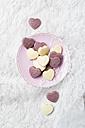 Chocolate hearts - MYF01937