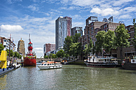 Netherlands, Rotterdam, old harbor and harbor museum - ELF01852