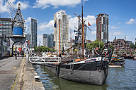 Netherlands, Rotterdam, old harbor and harbor museum - EL01855