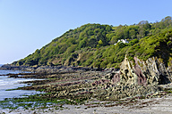 UK, England, Cornwall, Talland Bay near Polperro - SIEF07443