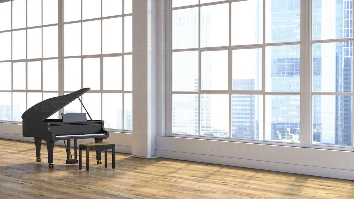 Grand piano in concert hall - UWF01246 - HuberStarke/Westend61