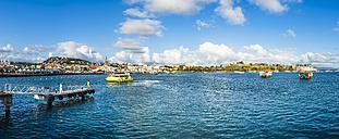 Caribbean, Martinique, Fort de France, harbor, Fort Saint Louisi n background - AMF05404