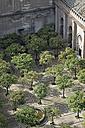 Spain, Andalusia, Sevilla, Torre Giralda, view on Patio de los Naranjos - HL01011