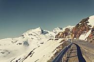 Switzerland, Poschiavo, Bernina Pass in morning light - DWIF00863