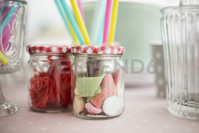 Glasses of various sweets - MOEF00019