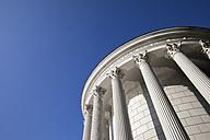 Poland, Warsaw, Saxon Garden, classical style water tower - ABOF00208