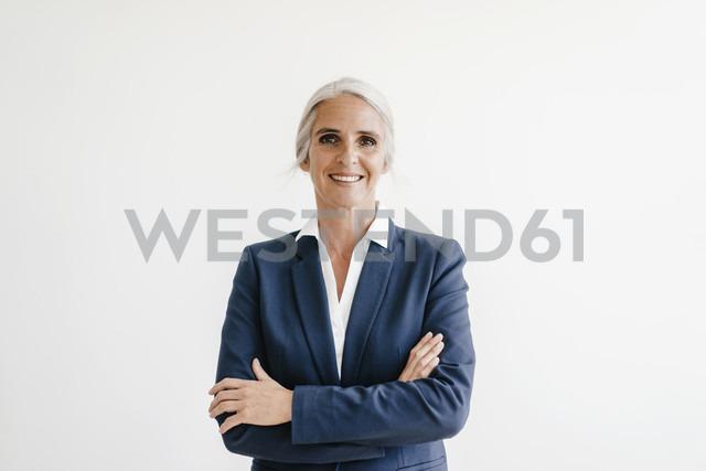 Portrait of confident businesswoman - KNSF01832