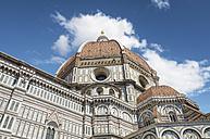 Italy, Florence, part of Basilica di Santa Maria del Fiore - DHCF00107