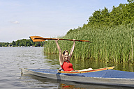 Woman in a kayak - BFRF01801