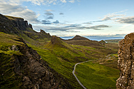 UK, Scotland, Isle of Skye, Quiraing - FCF01249