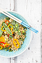 Bowl of mie noodles with vegetables - LVF06229