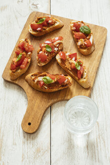 Bruschetta with Muhammara Spread and Chopped Tomatoes - HAWF00961
