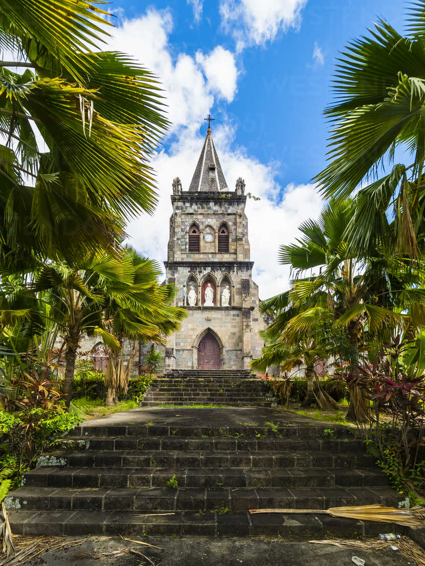 Caribbean, Antilles, Dominica, Roseau, Cathedral of Our Lady of Fair Haven - AMF05411 - Martin Moxter/Westend61