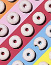 Doughnuts on colourful background - DRBF00019