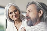 Portrait of an affectionate senior couple - SBOF00469