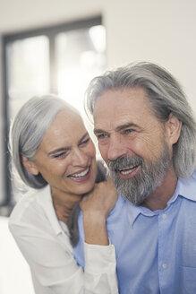 Portrait of an affectionate senior couple - SBOF00502