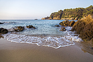 Spain, Catalonia, Lloret de Mar, beach - PUF00664