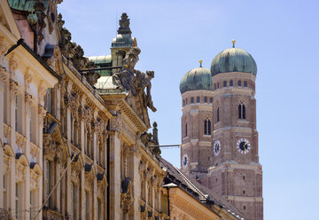 Germany, Bavaria, Munich, detail of the Church of Our Lady - SIEF07481