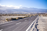 Spain, Tenerife, empty road - SIPF01661