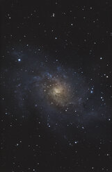 Astrophotography of M33 spiral galaxy - DHCF00153