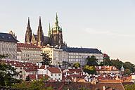 Czech Republic, Prague, Mala Strana, Hradcany, Castle and St Vitus Cathedral - WDF04106