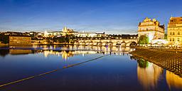 Czech Republic, Prague, Hradcany, Charles Bridge and Vltava - WDF04115