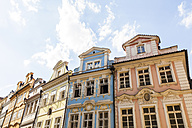 Czech Republic, Prague, Mala Strana, row of houses at Mostecka road - WDF04130