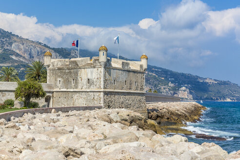 France, Cote d'Azur, Menton, Bastion Jean Cocteau Museum - MAB00461
