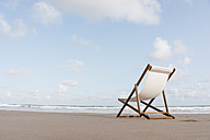 Deckchair on the beach - KNSF02657