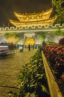 China, Yunnan, Dali, West Gate - THAF01986