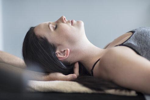 Woman receiving a massage - ZEF14574