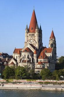 Austria, Vienna, view to Franz von Assisi Church - ABOF00258