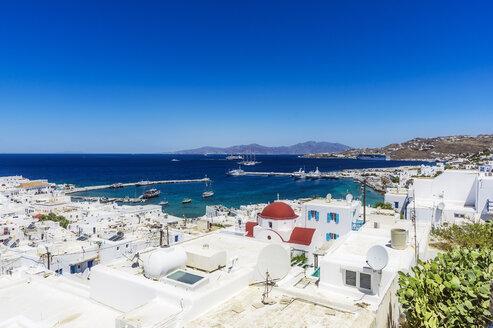 Greece, Mykonos, townscape - THAF02040