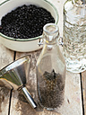 Preparing Elderberry Vodka - HAWF00976