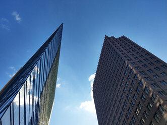 Germany, Berlin, Potsdamer Platz, blue sky - NGF00403