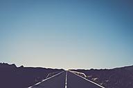 Spain, Tenerife, El Teide, Empty road - SIPF01745