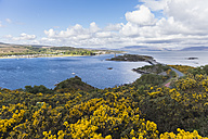UK, Scotland, Inner Hebrides, Isle of Skye, Kyle Akin and the Skye Bridge of The Plock - FOF09344