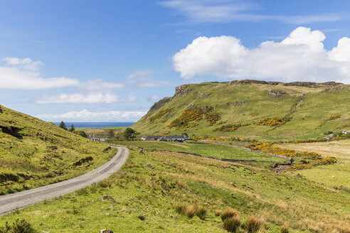 UK, Scotland, Inner Hebrides, Isle of Skye, road to Talisker Bay - FOF09347