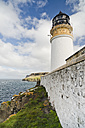 UK, Scotland, Isle of Skye, lighthouse at Neist Point - CLPF00147