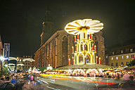 Germany, Heidelberg, Christmas market at night - PUF00716