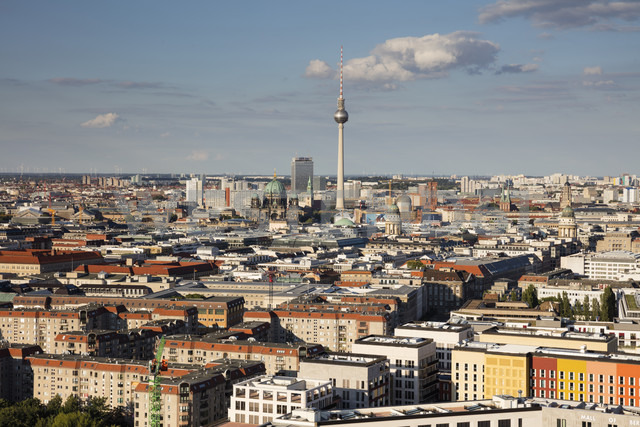 Germany, Berlin, elevated city view - WIF03427 - Wilfried Wirth/Westend61