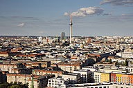 Germany, Berlin, elevated city view - WIF03427