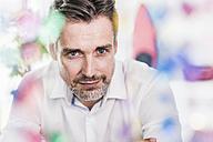 Portrait of confident businessman - UUF11704
