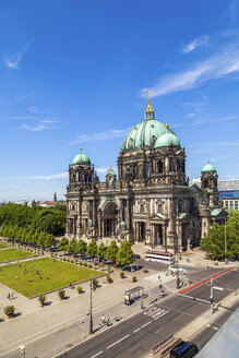 Germany, Berlin, view to Berlin Cathedral from above - PUF00733