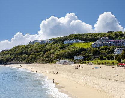 UK, England, Cornwall, St Ives, Porthminster Beach - SIEF07551