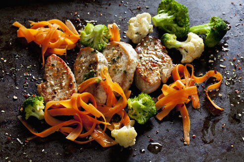 Fillet of turkey and vegetables - CSF28271