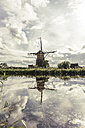 Netherlands, Kinderdijk, Kinderdijk wind mill - CHPF00434