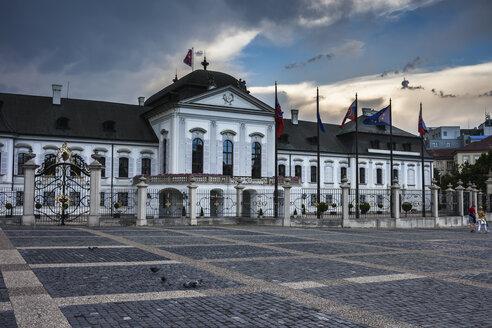 Slovakia, Bratislava, Grassalkovich Presidential Palace - ABOF00264