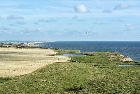 Denmark, Lemvig, coastal landscape as seen from Bovbjerg Fyr - HWOF00222