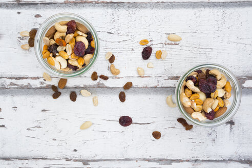 Two glasses of trail mix - LVF06331